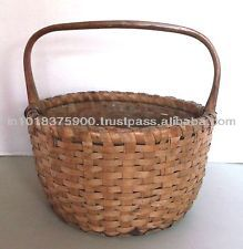 over 10 years manufacture experience oem high quality honey laundry basket/hamper