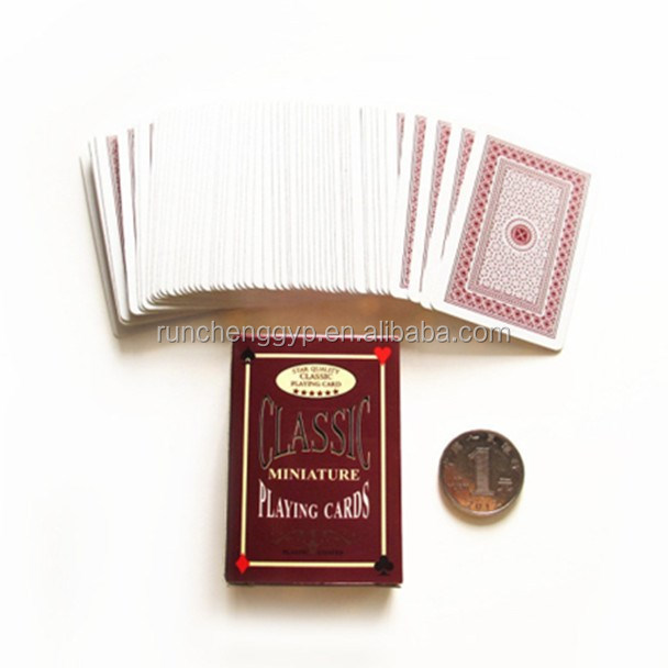 High Quality Printing Custom Playing Cards Deck/Poker Cards Set