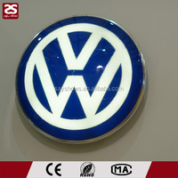 wall mounted round led light box vacuume forming sign