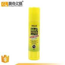 Power adhesive glue stick for school
