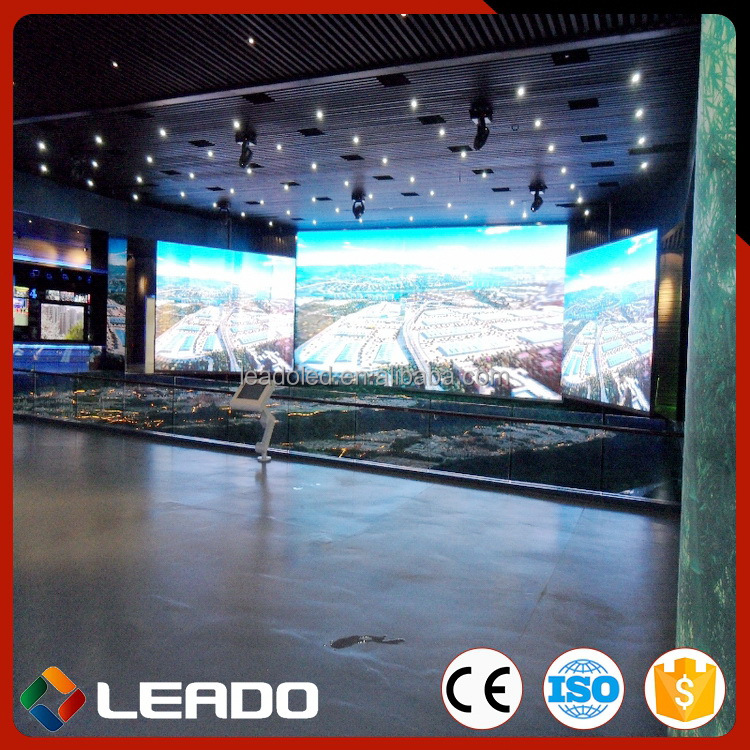 Made In Shanghai China Aluminum Cabinet indoor full color p6 led display module