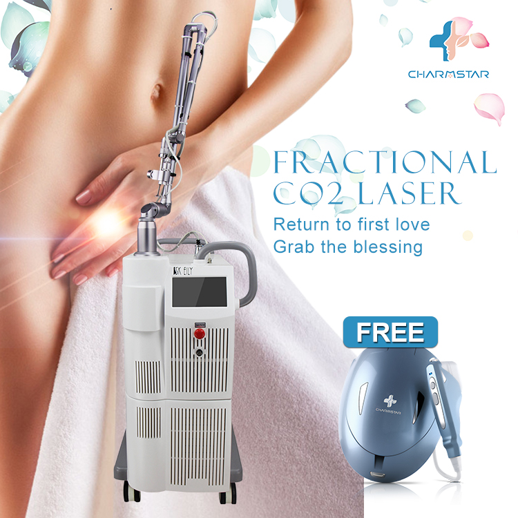 Hotest fractional co2 laser skin resurfacing / vaginal tightening machine with good price