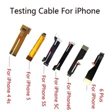 LCD Screen Touch Screen Digitizer Lens Flex Extension Testing Tester Cable for iPhone 4 4s 5 5s 5c&For iPhone 6&6 Plus