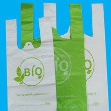 customized plastic bag/printing t-shirt plastic bag