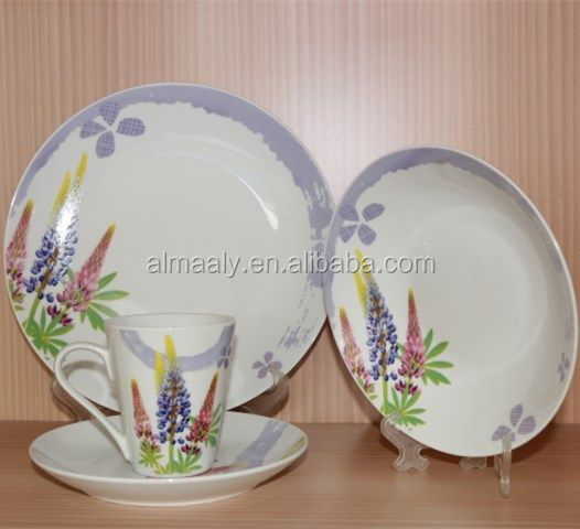 Indian fashionable ceramic dinner sets