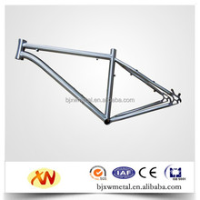 supplier titanium mtb bike frame integrated rack and fender hole high quality and best price