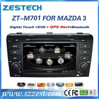 ZESTECH Factory OEM Dashboard placement car dvd for MAZDA 3 2004 2005 2006 2007 2008 2009 ZT-M701