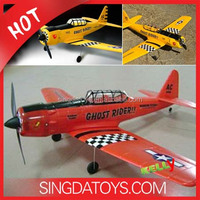 Hot Sale EPO Foam AT-6 2.4G 4 Channel Brushed Motor RC Helicopter