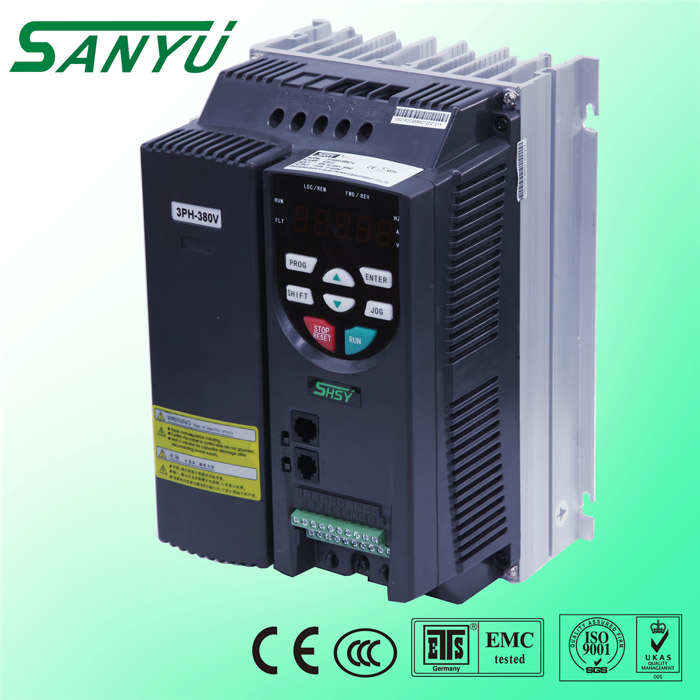 SY7000 series 2017 top quality 5.5Kw VFD 2 pump controller