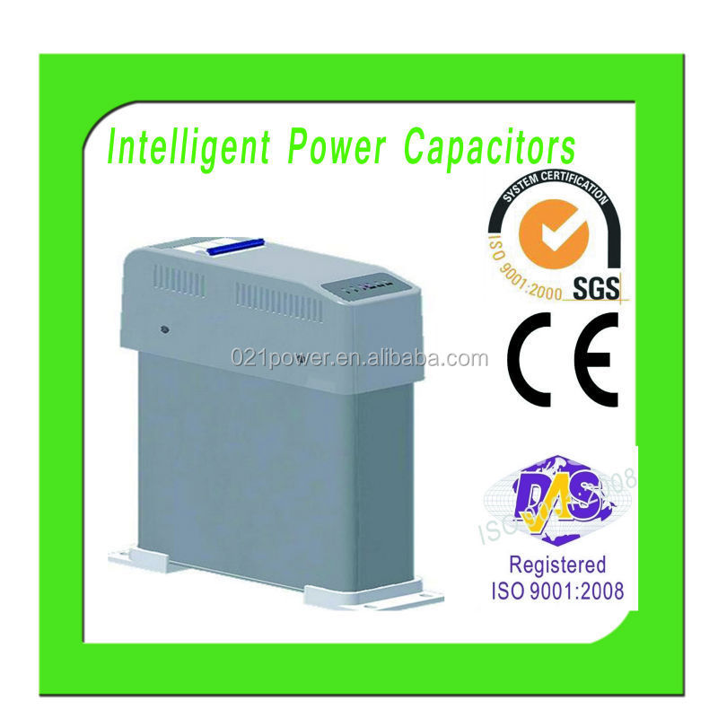 three phase 380V Self-healing low voltage Kvar power capacitor.