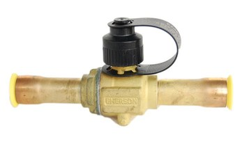 Emerson BV series brass ball valve