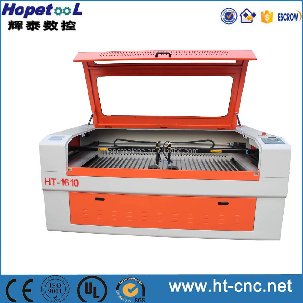 Two years warranty co2 RECI laser tube laser cutting machine for plastic film 1610