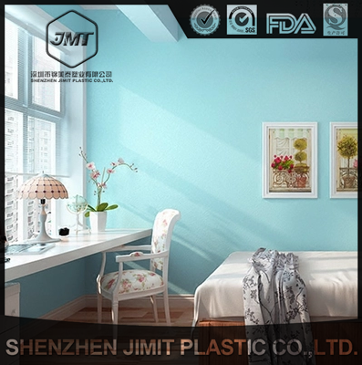 Blue ocean style restaurant wallpaper sticker waterproof wallpaper