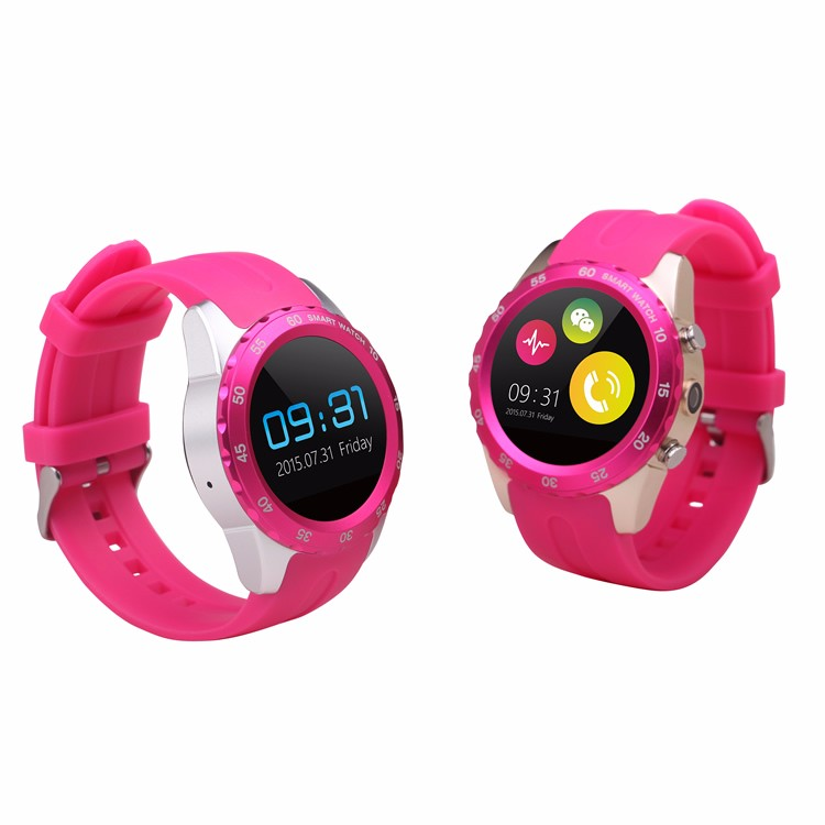 2016 Fashionable Wholesale Smart Watch Support Remote Control Mobile Phone with Bluetooth Connected