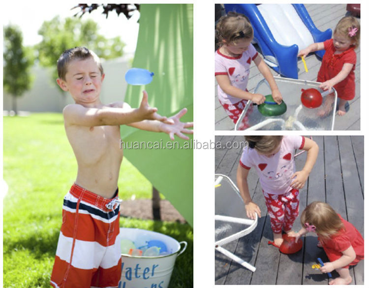 2016 China factory Wholesale Self Sealing Summer TOy Game Magic Water Balloon