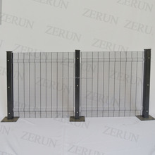 high quality 358 security anti-climb airport electric prison fences