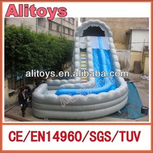 Ocean Wave PVC giant commercial inflatable super slide for sale