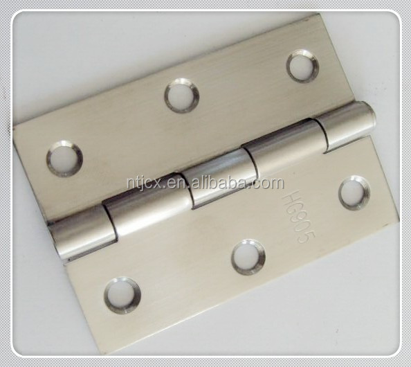 "2016 Grade one hot high quality stainless steel 4""x3""x2 Core pulling stainless steel hinge"