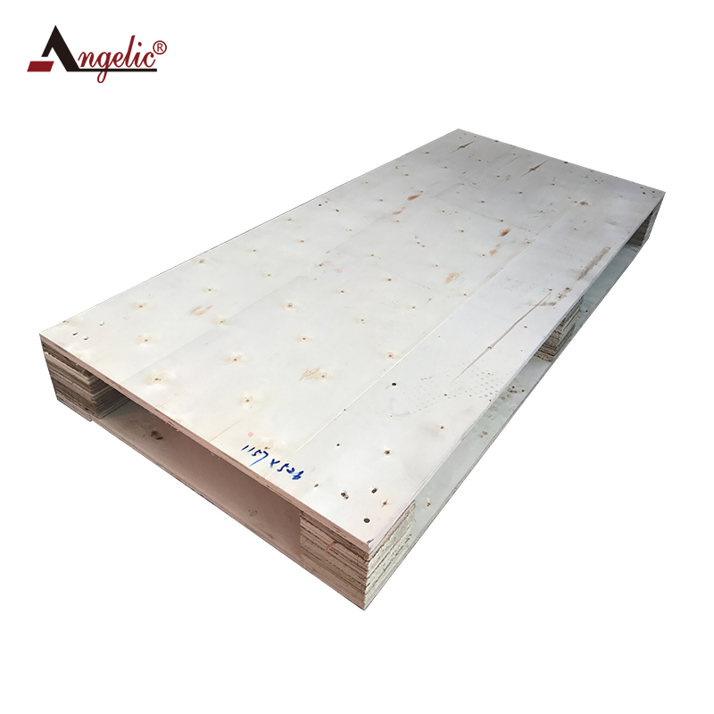 Fumigation-free wood plywood pallet for logistics transportation