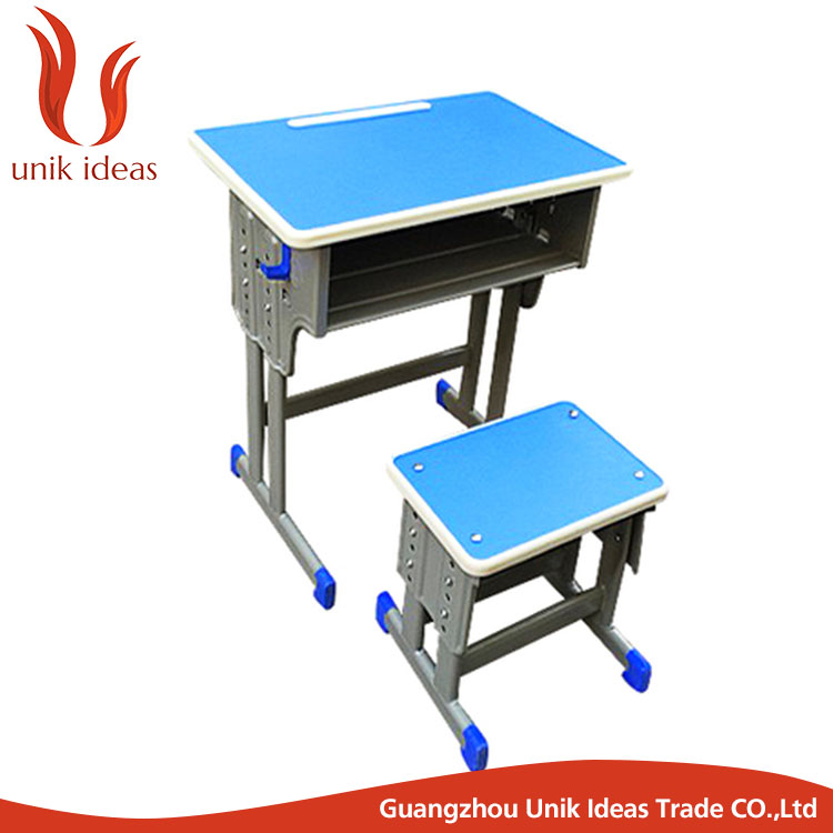 School furniture student desk and chair children school furniture used single table&chair