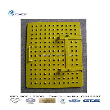 Construction Building Ladder Access Trap Door For Different Scaffolding
