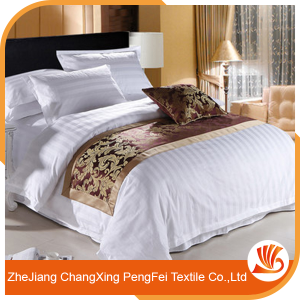 Latest bed cover sheet designs for hotel