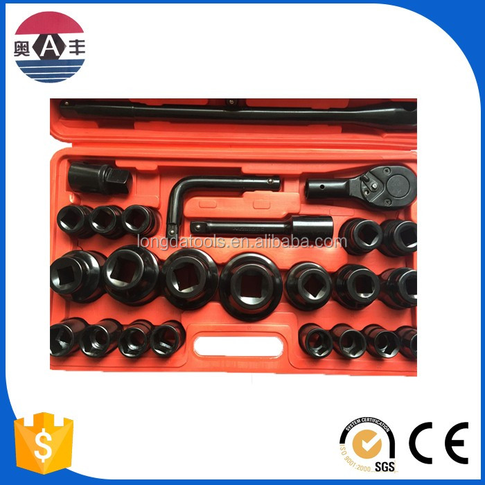 Hardware 26pcs tools set craft tool CRV socket set