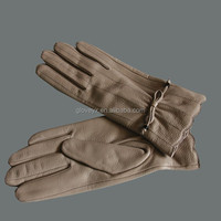 Evening Party Leather Dress Gloves winter women dress leather gloves