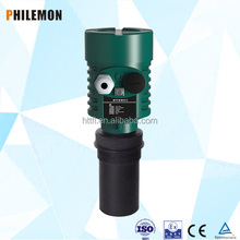 hT-2000 external ultrasonic liquid level gauge apply for light oil tank