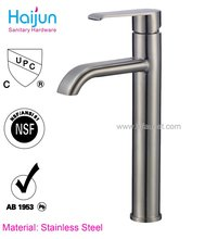 Single Lever Modern Stainless steel Wash Basin taps
