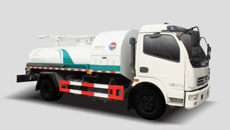 Dongfeng 6cbm Suction sewage truck for sale