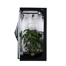 Size 100*100*200cm Reflective 600D Mylar Hydroponics Indoor Secret Jardin Grow Tent Buddy Systems