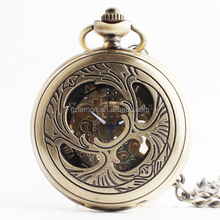 Factory Directly OEM Erotic Mechanical Pocket Watch Vogue Chain Watches men