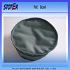 Portable Travelling use Folding Pet food Dog Bowl