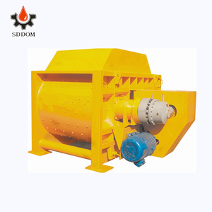 Environment protection twin shafts concrete mixer with low cost for engineer