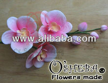 cake decoration gumpaste flower MOTH ORCHID set