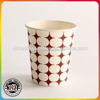 8oz 12oz Single Wall Hot / Cold Drink Paper Cup