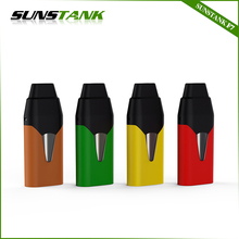 Sunstank F7 micro USB charge port 250mah mini pod vape pen with disposable pod cartridge