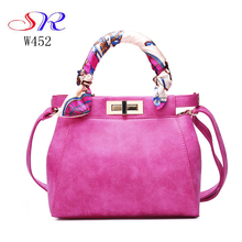 W452 Guangzhou China wholesale suppliers office lady handbags messenger shoulder bag women Hand bags