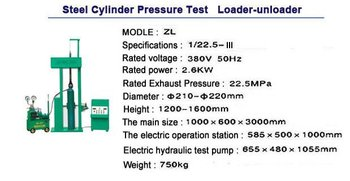 CNG cylinder hydrostatic test bench equipment/CNG Cylinder hydraulic test bench equipment