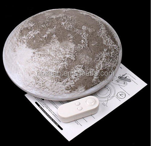 Hight Quality Healing Moon Lamp with Remote Control Remote Control LED Moon Light