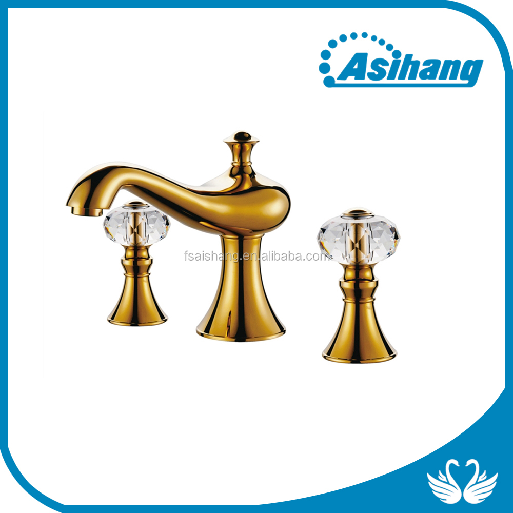 bathroom classic gold basin faucet on new products