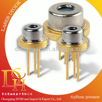 new 638nm 300mw Diode Laser