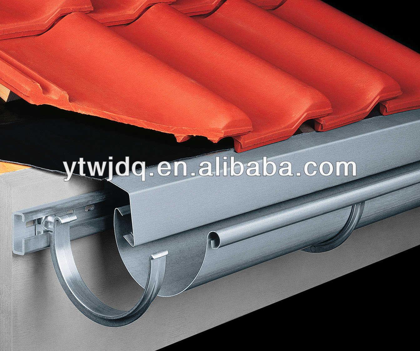 Как закрепить водостоки на крыше: инструкция, схемы, пошаговый монтаж 3