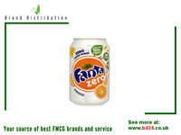 Fanta Orange Zero 330ml