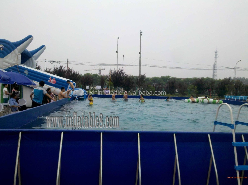Galvanized Steel Pool For Sale with summer holiday event festival