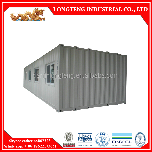 Comfortable 40ft super wide shipping container home / house / accommodation with CSA certified