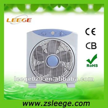 Plastic parts with 5 pp blades plastic box fan
