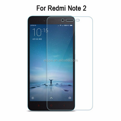 2016 New Design Tempered Glass Screen Protector For Xiaomi Redmi Note 2 Scratch Resistant Film