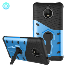Innovative accessories for Motorola sniper 2 in 1 combo cell phone case for Moto E4 Plus mobile cover